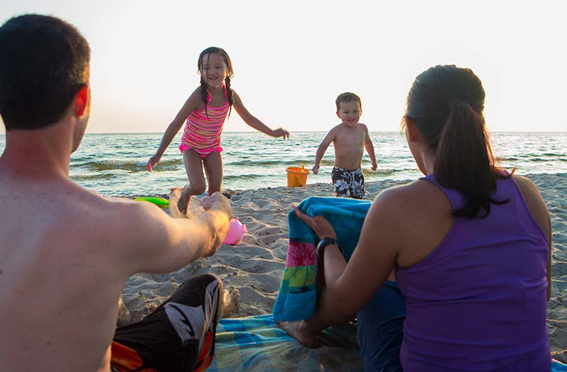 Beach Tips for Families